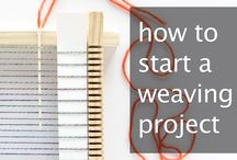 Weaving / I find the weaving projects intriguing and may want to try it someday.  / by Amy Ellis