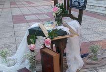 Vintage Διακόσμηση Γάμου σε αποχρώσεις μπλε και ροζ