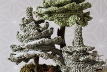 елочки и деревья