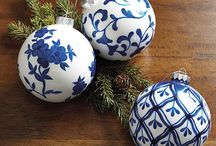 Blue and White Love!