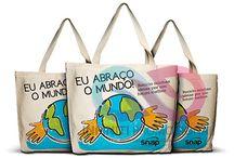Sacolas Personalizadas / Todos os modelos de sacolas pode ser fabricado no tecido e tamanho de sua escolha.