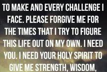 pray .. have faith in God