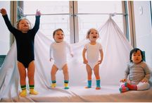 Little Royal Two / WE LOVE COLOR. WE LOVE SOCKS.  WE LOVE BABIES.  ~Bright, knee-high, UNISEX baby socks that stay put on your active baby's legs~