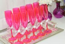 decoração festa salão de beleza