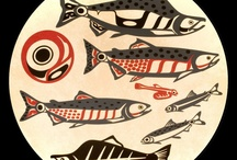 Pink Salmon, Roy Henry Vickers