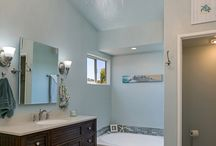 Bathroom Remodel Oceanside / This master bathroom remodel in Oceanside was quite extensive and the wife was so amazed at the transformation that she said she actually cried tears of joy when she realized her dream bathroom was now a reality. #bathroomrenovation #bathroomremodel #modernbathroom  Photos by PreviewFirst