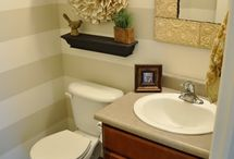 Bathroom Ideas / by Michelle Johnson Hunter Bunker