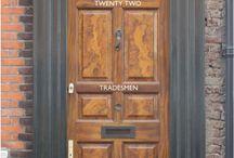 Interesting front doors