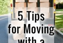 Moving with Children / Children need special attention during a family move. Help them  through this transition with these handy tips for moving with kids!