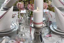 stół dekoracje