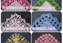 Crochet. Edges