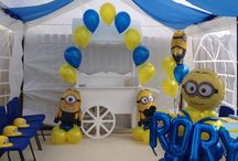 Party party balloons / Event design and decoration for weddings, birthdays and other special occasions. Balloon displays for big and small events.