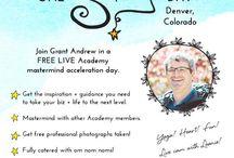 One Shining Day / Live Academy Meet-ups! / by Leonie Dawson :: LeonieDawson.com