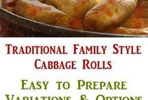 FAMILY RECIPES / Our family's recipes.