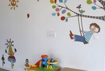 Anasınıfı duvar boyama