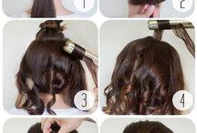 Hair up-dos