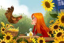 Ilustraciones bonitas