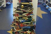 juletræ af bøger