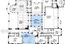 Floor plans / House floor plans