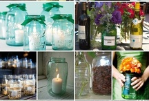 Mason Jars- Endless Uses / by Michelle Lopez