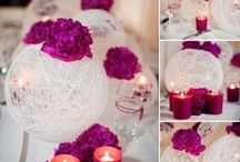 yarn ball centerpiece