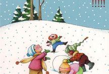 Snowmen Melt My Heart / Snowme Melt My Heart / by Lyn Russell