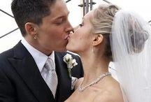Lesbian and Gay Weddings / #gay #lesbian #wedding