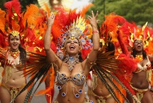 Nottinghill Carnival / All the best from Nottinghill Carnival London. The largest Caribbean festival in the UK!
