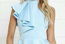 блузки- топы