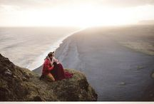 Romantic Engagement Photo Ideas / Romantic engagement photos with all the feels.