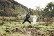 prewedding of jehan & julio / rancaupas ciwidey - jalan braga - jalan asia afrika - bandung