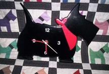 Scottie clocks