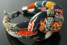 Kangaskorut - Fabric jewellery
