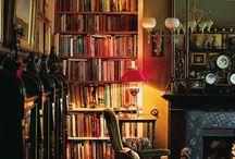 Gezellige bibliotheek