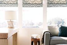 DIY window treatments / Do It Yourself window treatments