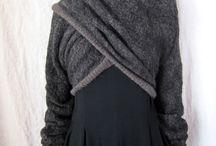 Grote grijze sjaal