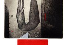 Zdenek Bugan - Graphic art / technique combination - etching, aquatint, mezzotint, dry point