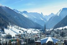 Ski Destinations in the Alps / Lovely imagery of the most beautiful euopean ski resorts by http://www.finest-holidays.com/luxury-ski-chalets.html and http://www.finest-holidays.com/luxury-ski-chalets-French-Alps.html
