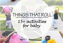 One year old activities / Play ideas