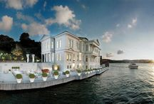 {Bosphorus Waterside Hotels} / Top #Bosphorus Waterside #Hotels.#Istanbul #travel #Bosphorus #BosphorusYachting #BosphorusCruise