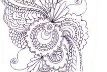 Quilt - Zentangles
