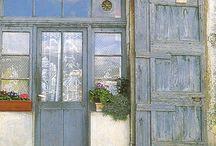 Provence, intériors♫ ♪ ♥●•٠·˙ ☯ / éclairage provencal