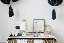Black & White Party / Black and white party ideas, decor, food & other event inspiration / by Sendo Invitations