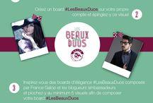 #lesBeauxDuos / chic, élégant, couture, intemporelle, classe