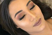 Maquiagem marrom