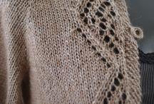 свитер в ручную