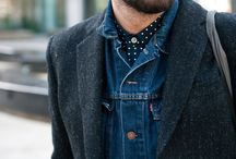 Men's Grooming & Fashion / From boyish, street style, older sophistication, to the rugged look, men's style intrigues me.  / by Ivy Simao