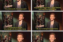 A true gentlemen: Tom Hiddleston