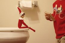 Elf on the shelf ideas!!