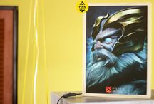 Light Box Zeus Dota 2